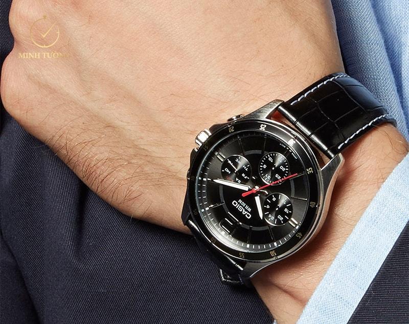 Đồng hồ Casio MTP-1374L-1AVDF phù hợp với mọi đối tượng nam giới