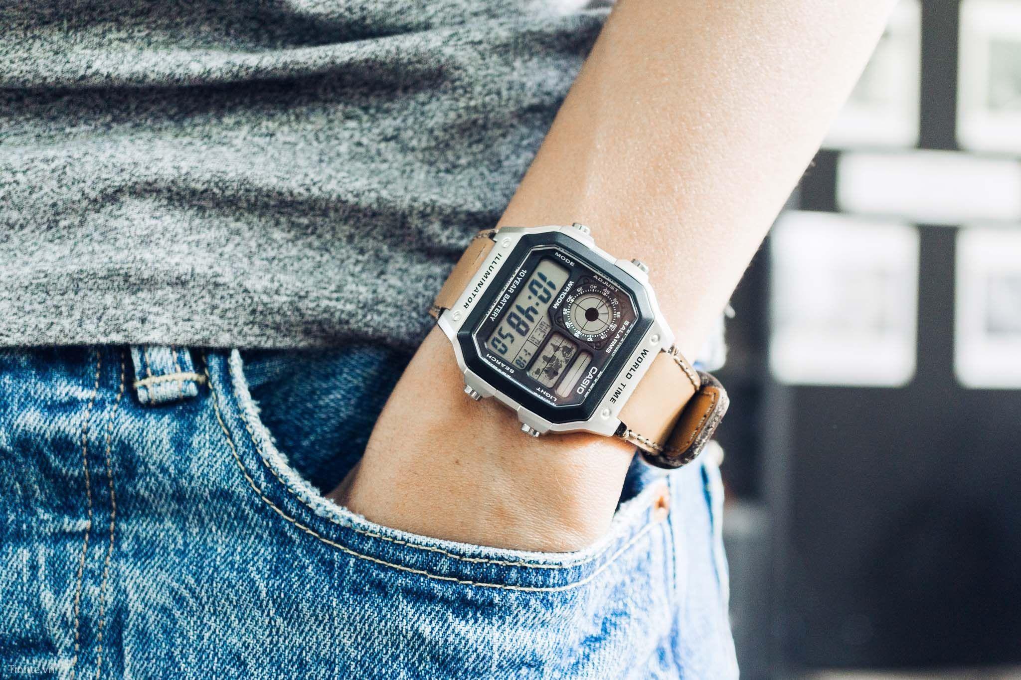 Thông tin chi tiết về đồng hồ Casio AE1200WHD