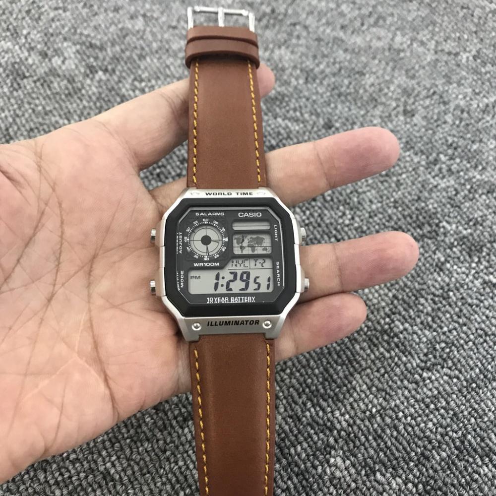 Thiết kế về đồng hồ Casio AE1200WHD