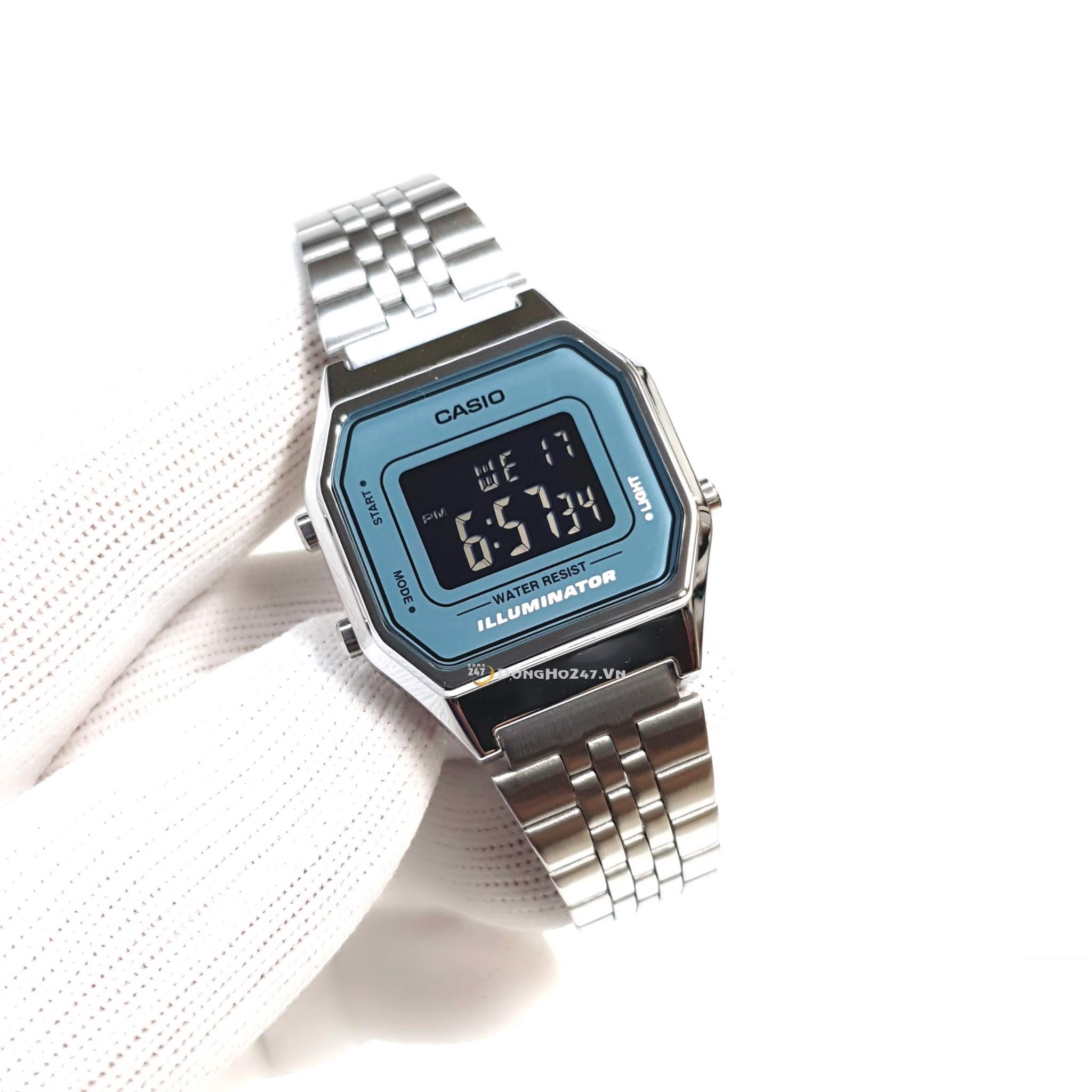 Đặc điểm của đồng hồ Casio điện tử dây kim loại