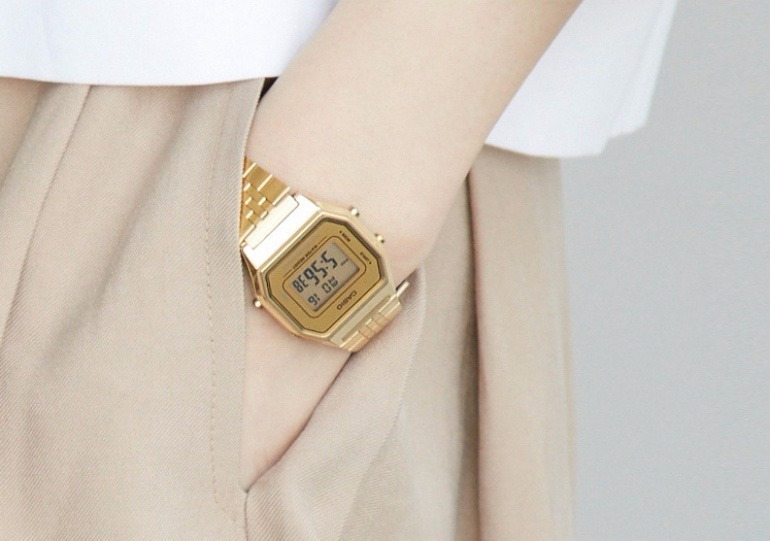 Đồng hồ Casio LA680WGA-9DF