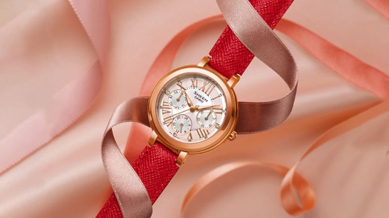Đồng hồ nữ dây da Casio có nhiều phong cách thể hiện