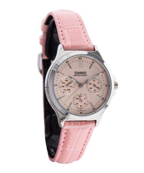 Đồng hồ Casio nữ giá rẻ LTP V300L 4AUDF: cho các nàng kẹo ngọt và nữ tính