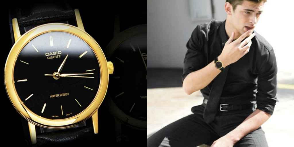 Casio Gold Black có vẻ ngoài cuốn hút ngay từ ánh nhìn đầu tiên