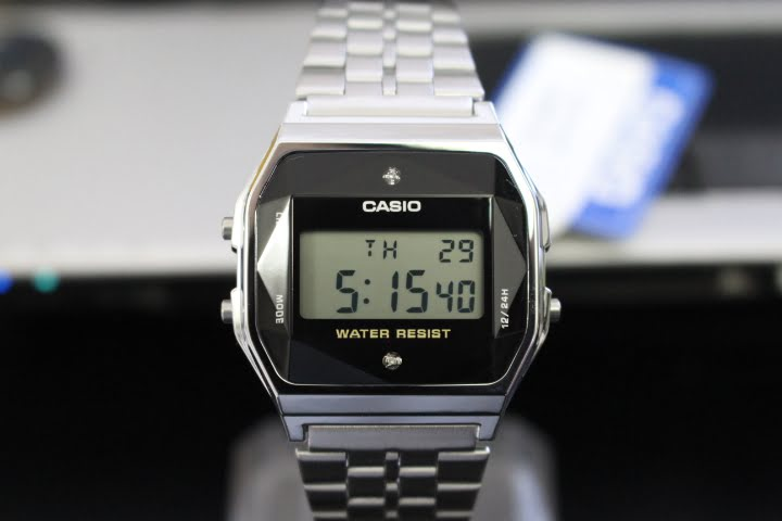 Đồng hồ Casio điện tử A159WAD-1DF