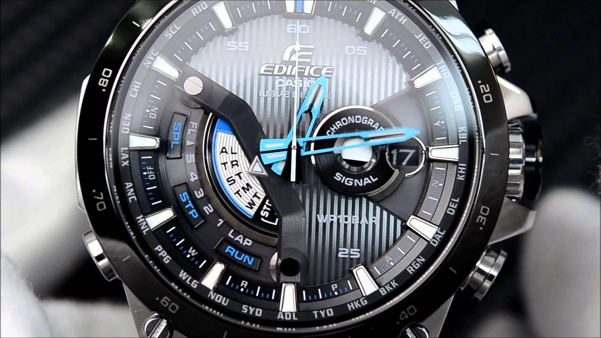 Đồng hồ Casio Edifice đánh dấu sự phát triển của công nghệ điện tử