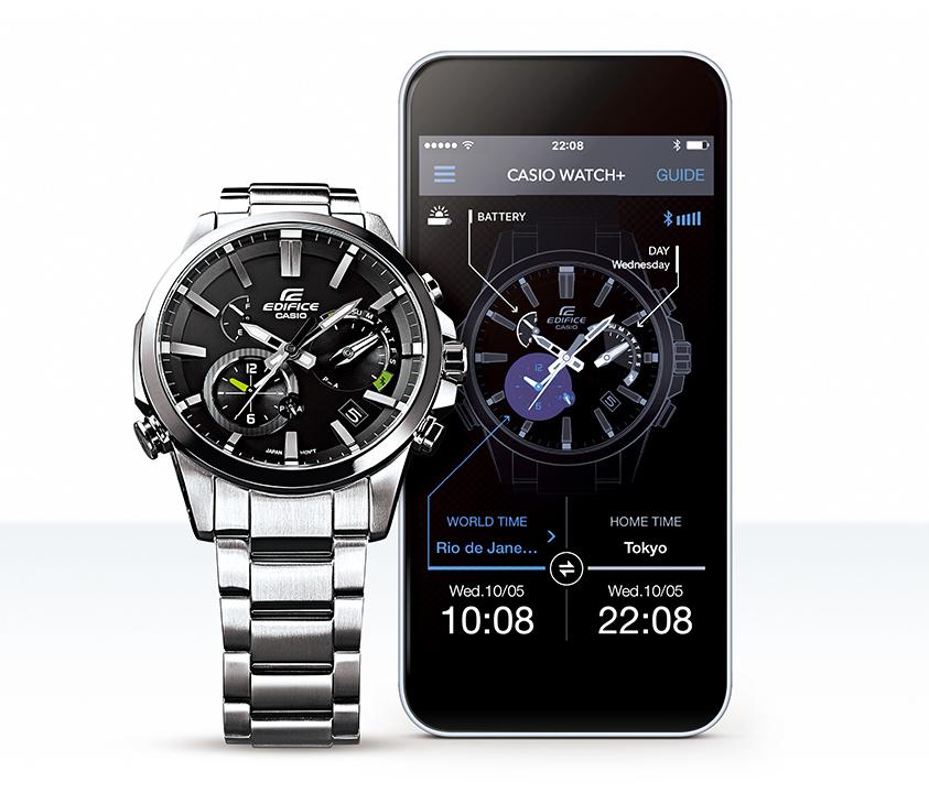 Edifice có chức năng hiển thị giờ thế giới nằm ở mặt số phụ đồng hồ