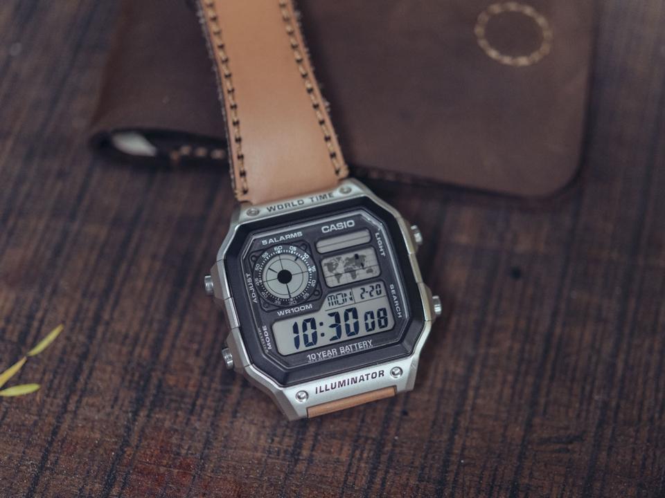Chất liệu đồng hồ Casio có tốt không?