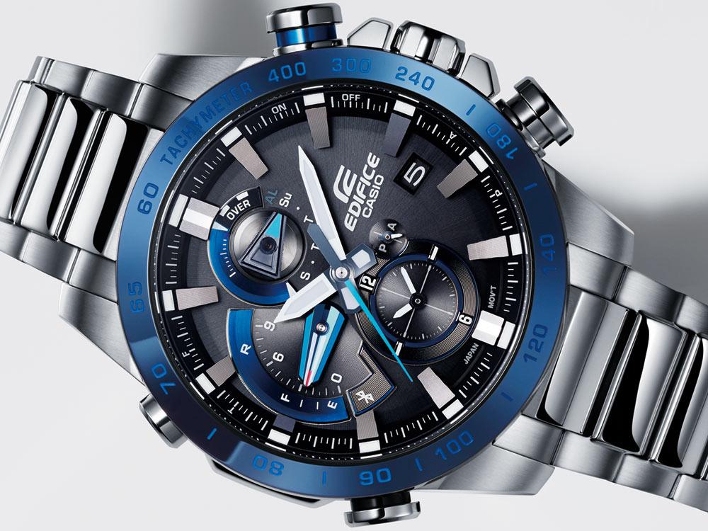 Vẻ đẹp ấn tượng của đồng hồ Casio Edifice