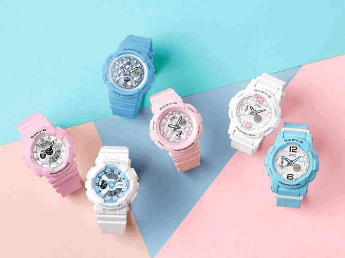 Thiết kế kẹo ngọt của Casio Baby G