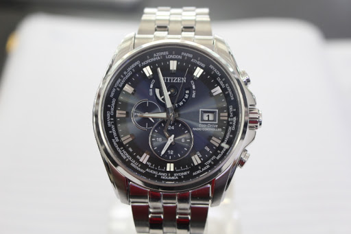 Đồng hồ Citizen nam Eco-Drive Radio Controlled AT9031-52L