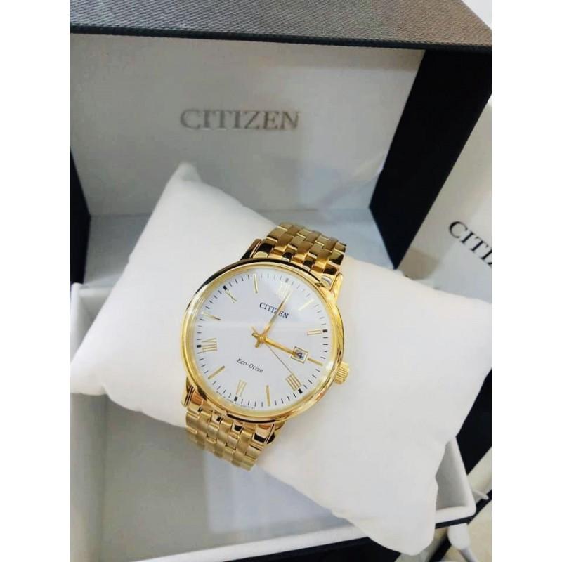 Đồng hồ Citizen - Máy Eco-Drive - Nam - Dây Thép không gỉ (BM6772-56A)