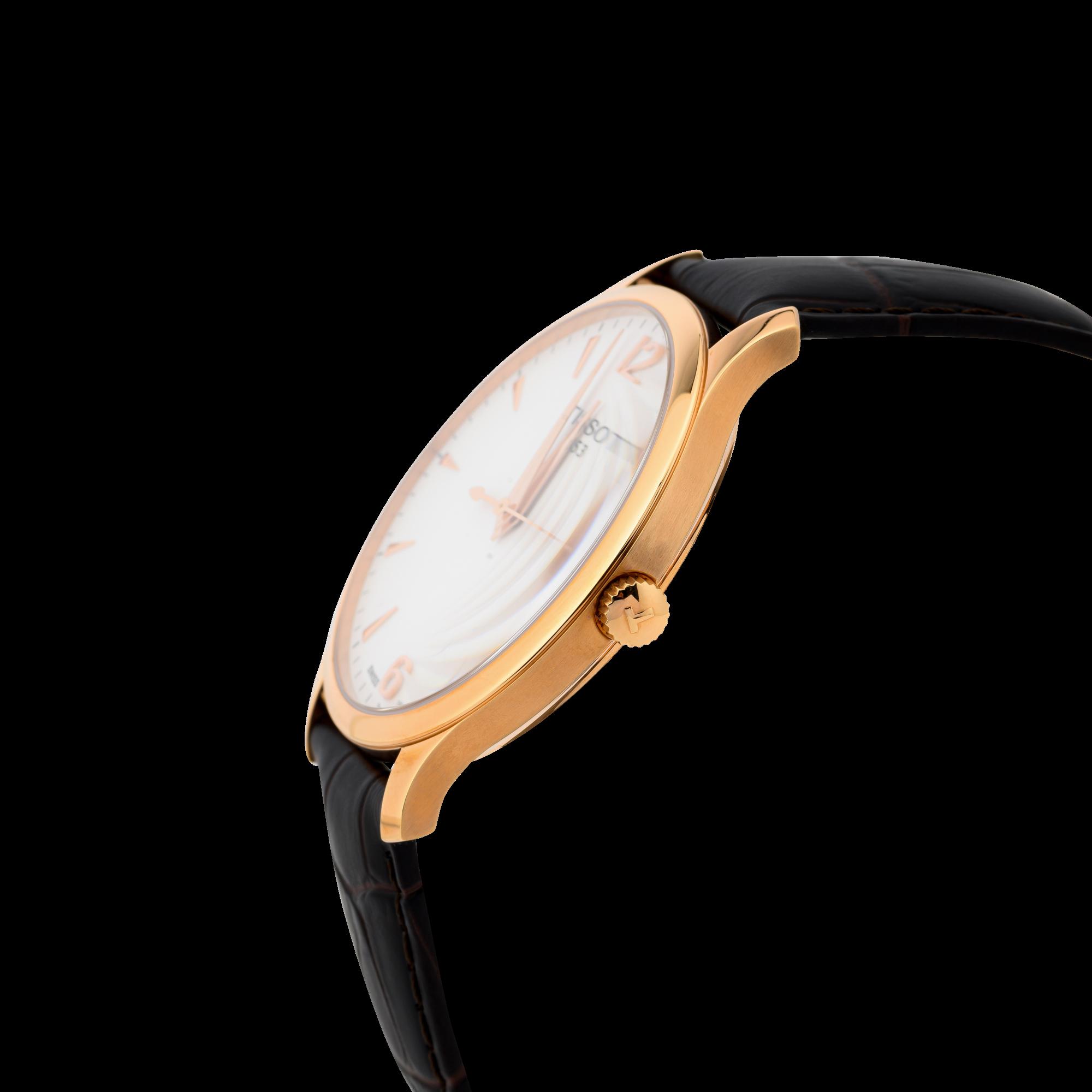 Đồng hồ Tissot T063.610.36.037.00 (T0636103603700) Viền Mạ Vàng