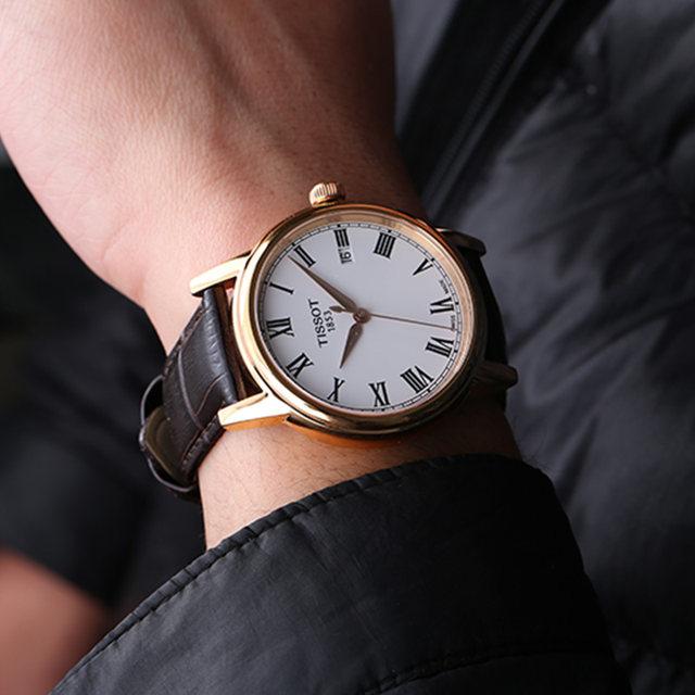 Entity counter Swiss Tissot Tissot Carson quartz men's watch T085.410.36.013.00  belt