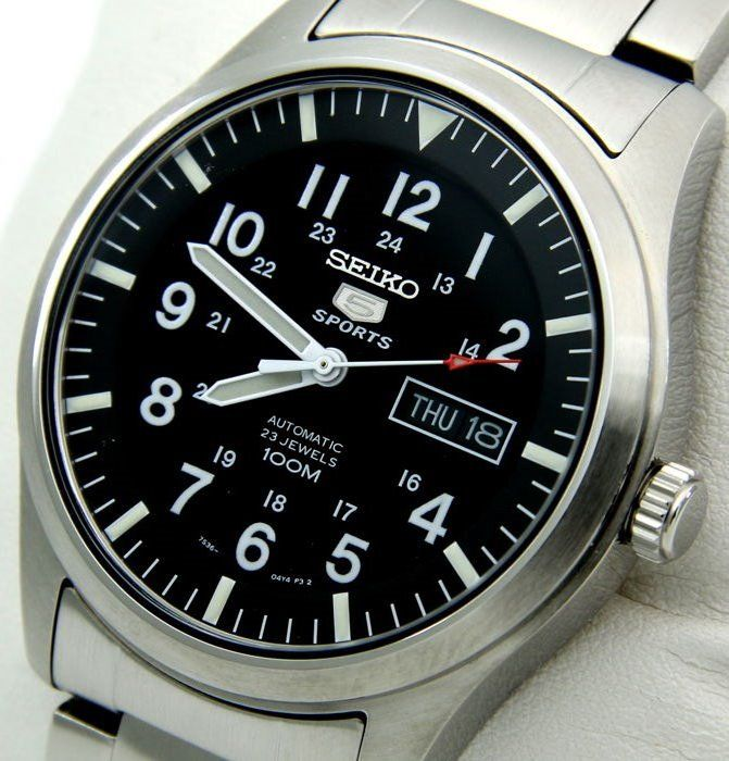 "Seiko - Automatic 23 Jewels 100M - ""NO RESERVE PRICE"" - Men - Catawiki"