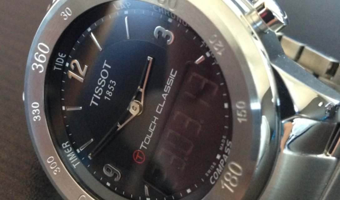Tissot T-Touch Classic Review | Reviews by WYCA