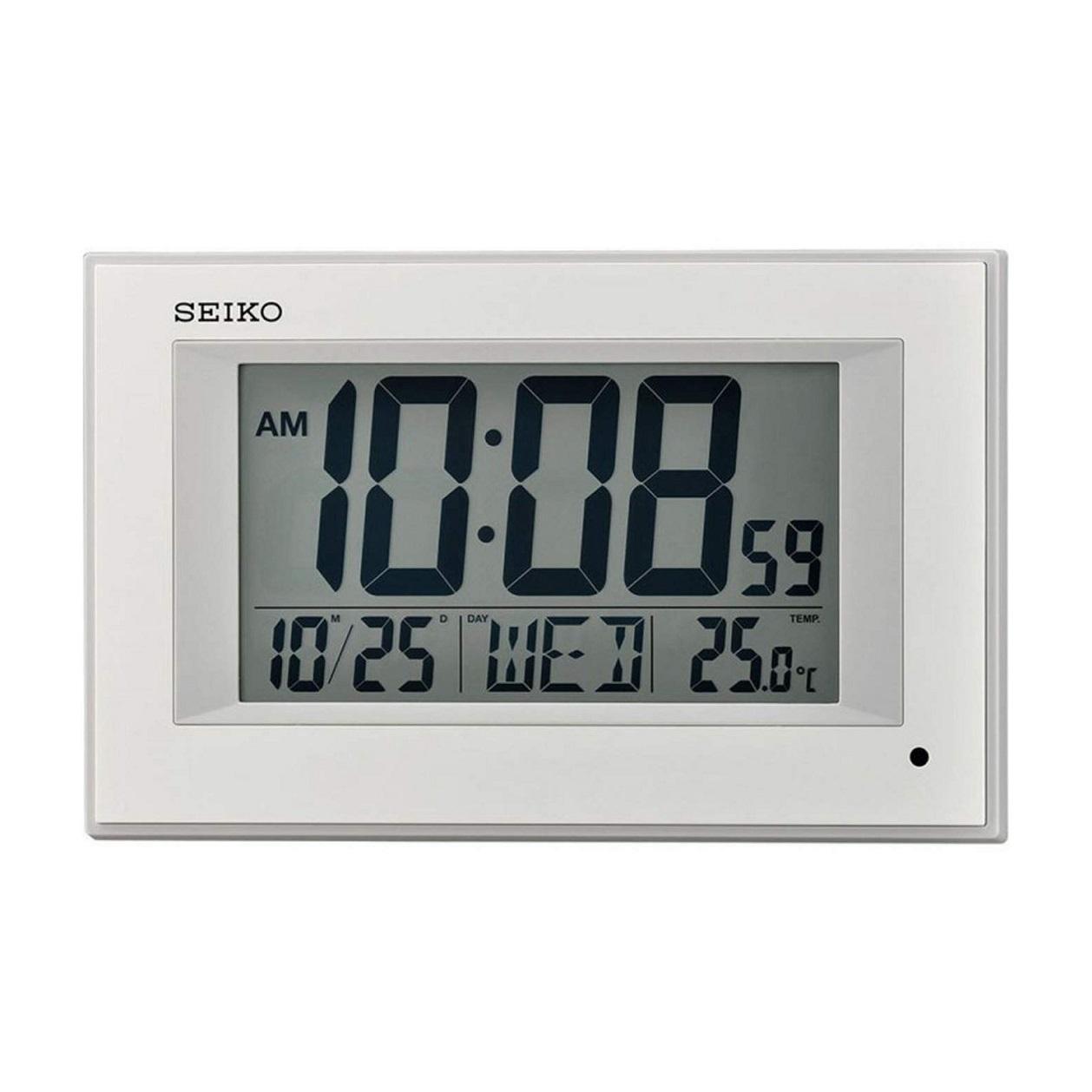 Đồng hồ treo tường điện tử Seiko QHL077W