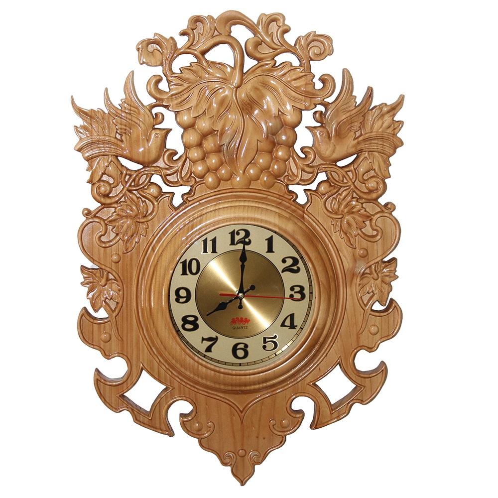 Tổng hợp mẫu đồng hồ treo tường gỗ đẹp nhất hiện nay