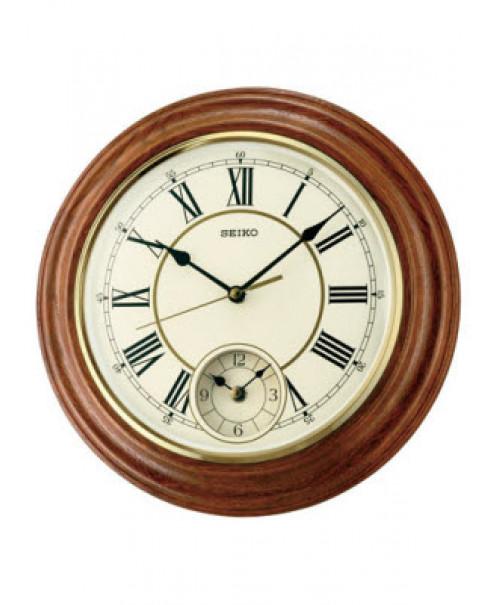 Đồng hồ treo tường bằng gỗ SEIKO QXA494B