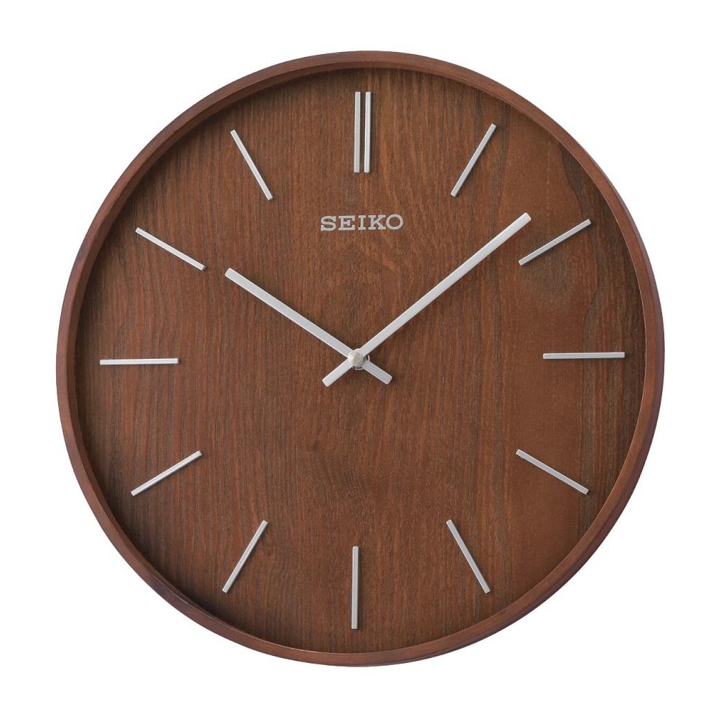 Đồng hồ treo tường bằng gỗ SEIKO QXA765B