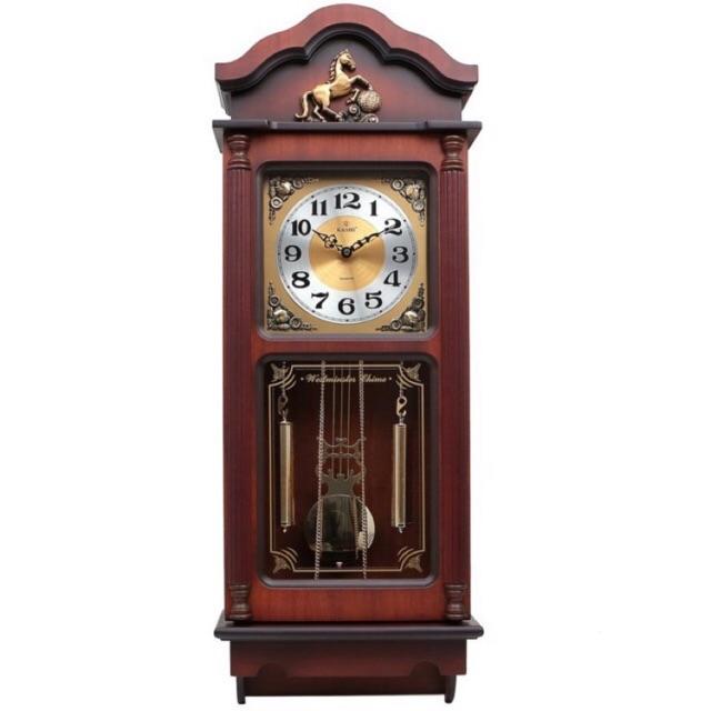 Mẫu đồng hồ treo tường quả lắc đẹp nhất năm 2021