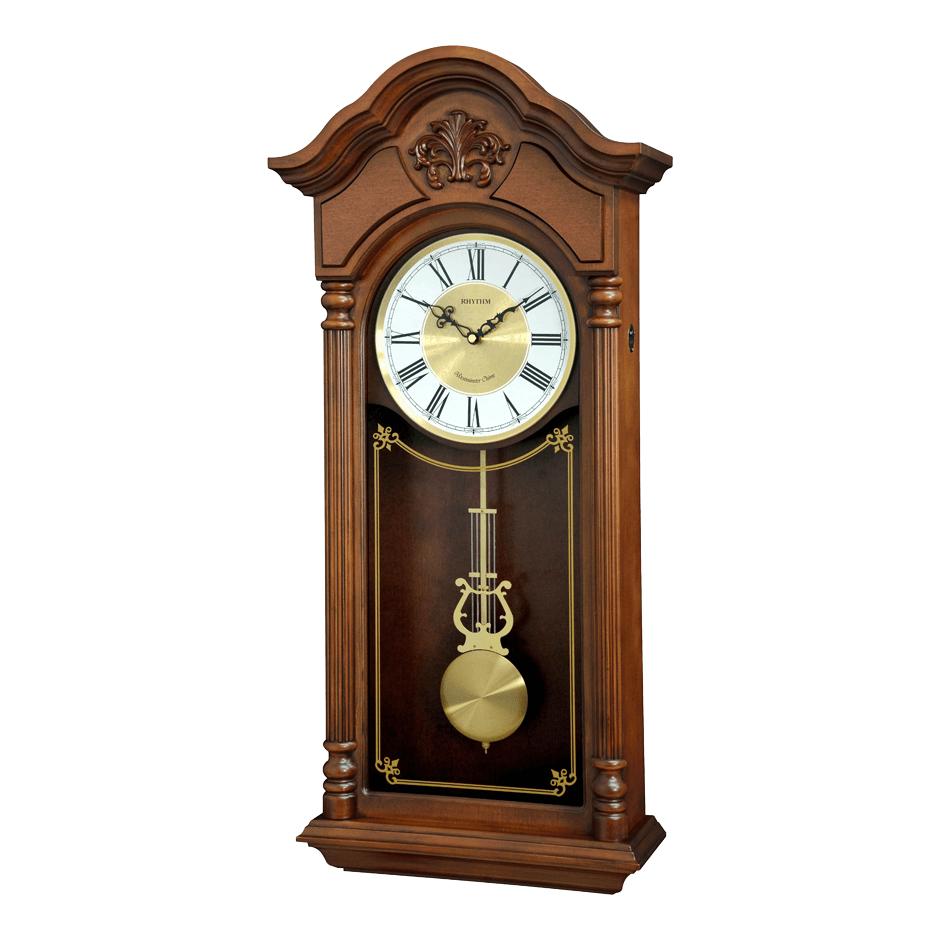 Đồng hồ treo tường quả lắc RHYTHM CMJ584NR06