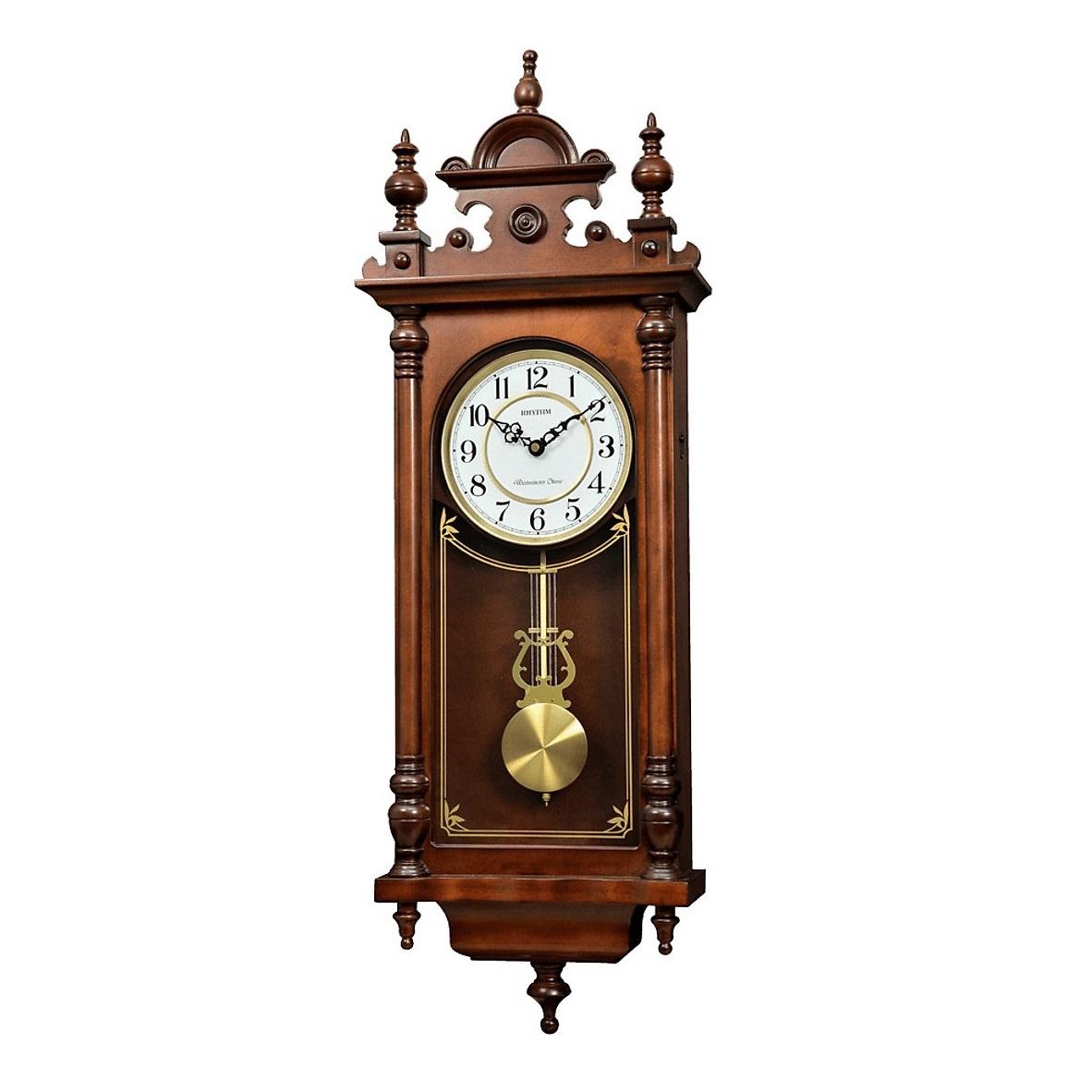 Đồng hồ treo tường quả lắc RHYTHM CMJ583NR06