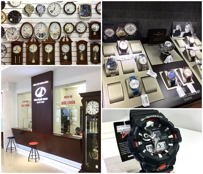 Không gian cửa hàng đồng hồ Quốc Doanh