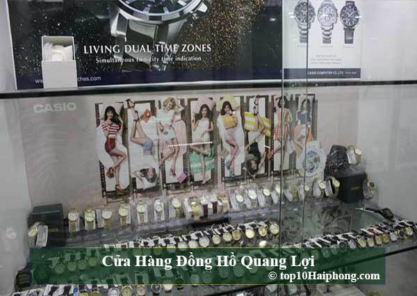 Cửa hàng đồng hồ Quang Lợi