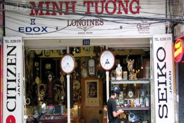Cửa hàng đồng hồ Minh Tường những ngày đầu