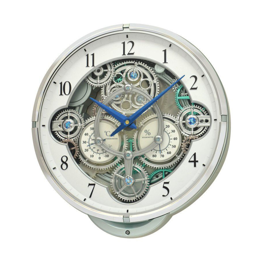Đồng hồ treo tường trang trí phòng khách RHYTHM 4MH886WD05 giá 15.290.000 VNĐ