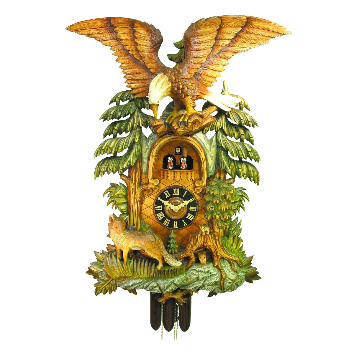 Đồng hồ treo tường cao cấp AUGUST SCHWER 036-50-19501P