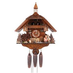 Đồng hồ treo tường cao cấp CUCKOO AUGUST SCHWER 036-58-87001P