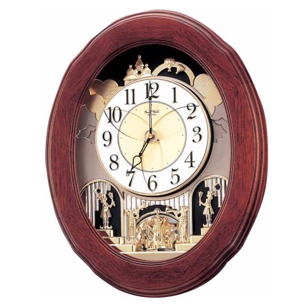 Đồng hồ treo tường cao cấp RHYTHM 4MH780WD06