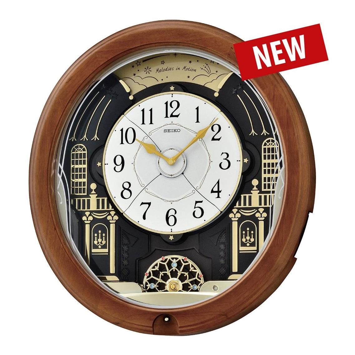 Đồng hồ treo tường cao cấp SEIKO QXM383B