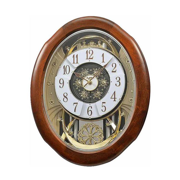 Đồng hồ treo tường cao cấp RHYTHM 4MH884WD06