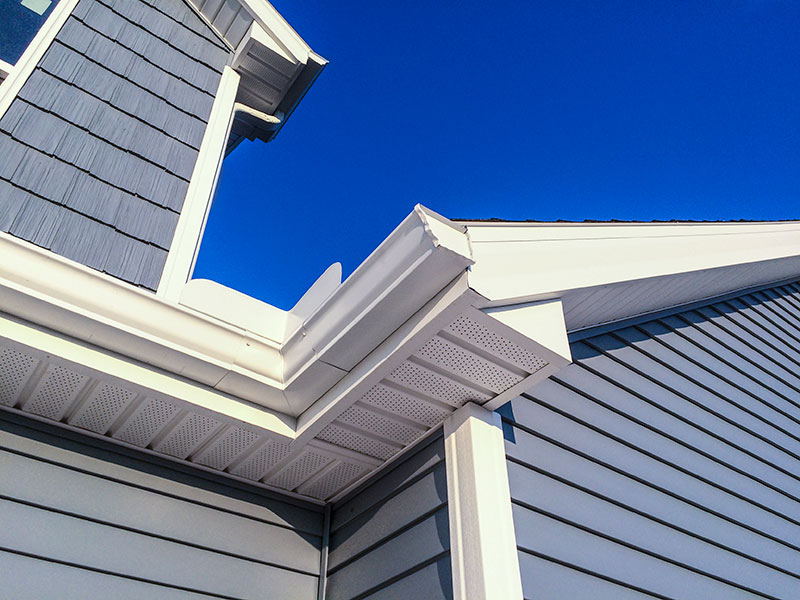 New home gutters