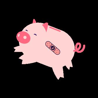 Cofre de porquinho