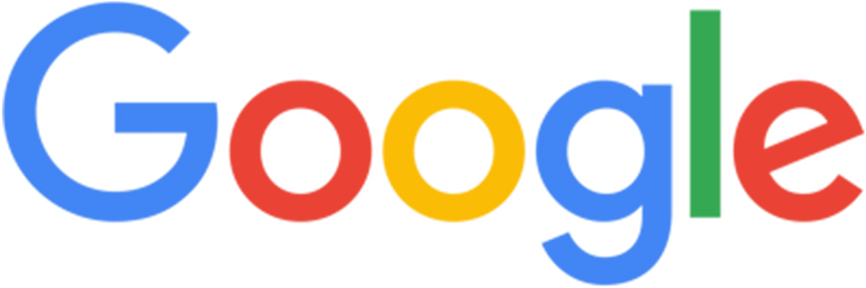 Google Logo Black and White to Color