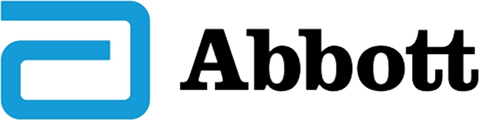 Abbot Logo Black and White to Color