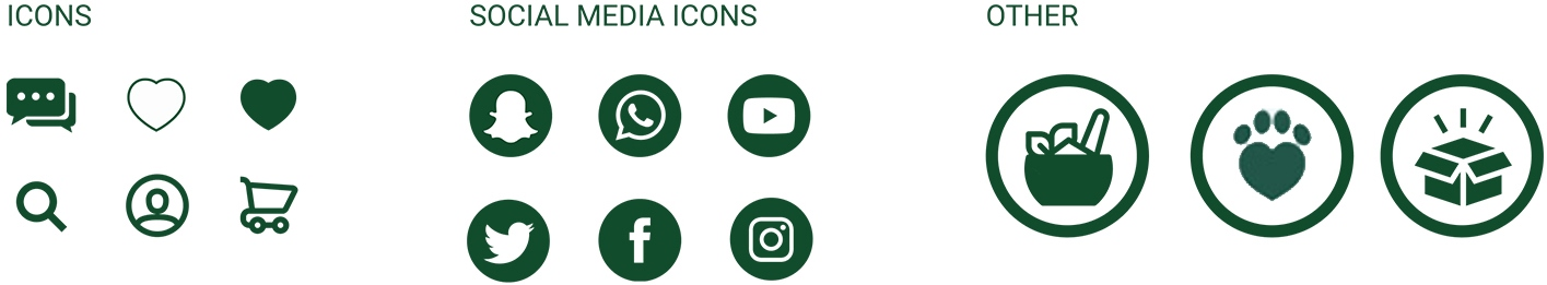 Social Media & Other Icons