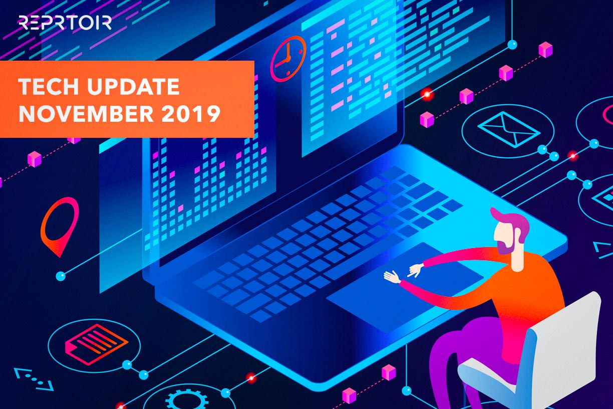 Saved searches - Tech Update November 2019