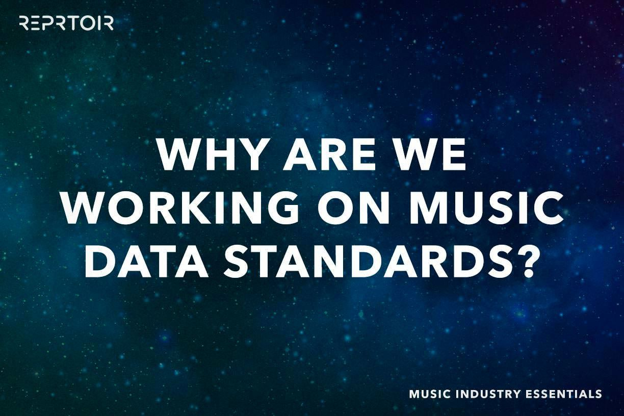 Why are we working on Music Data Standards?