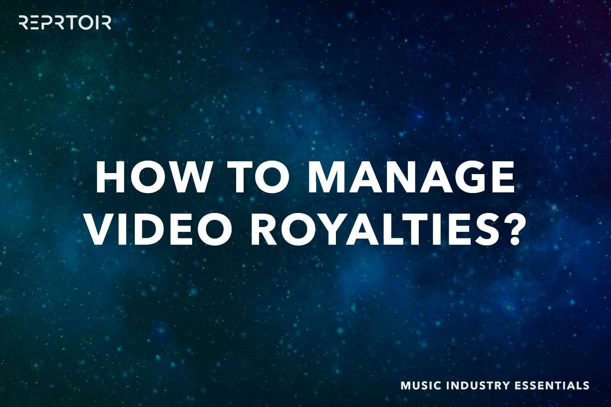 How to manage video royalties?