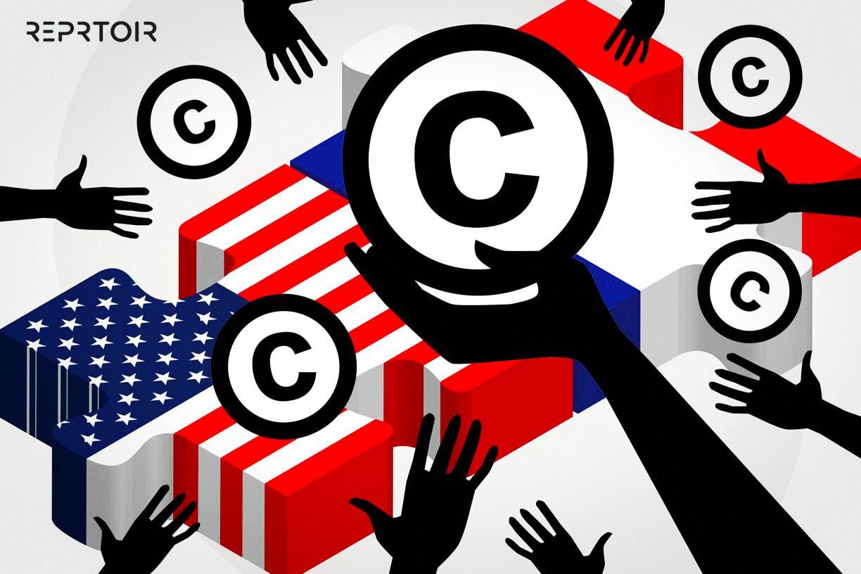 What is the difference between US Copyright and French Copyright?