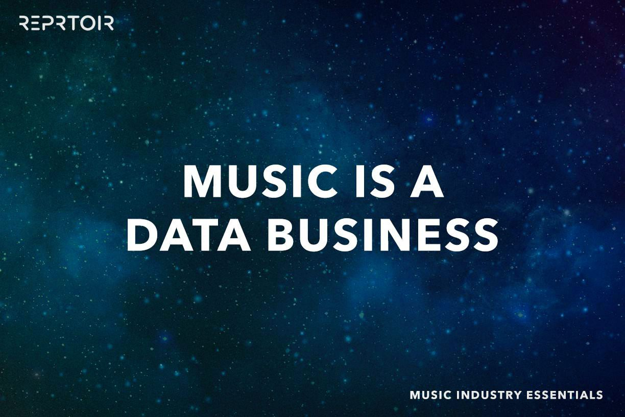 Music is a Data Business (and always has been)