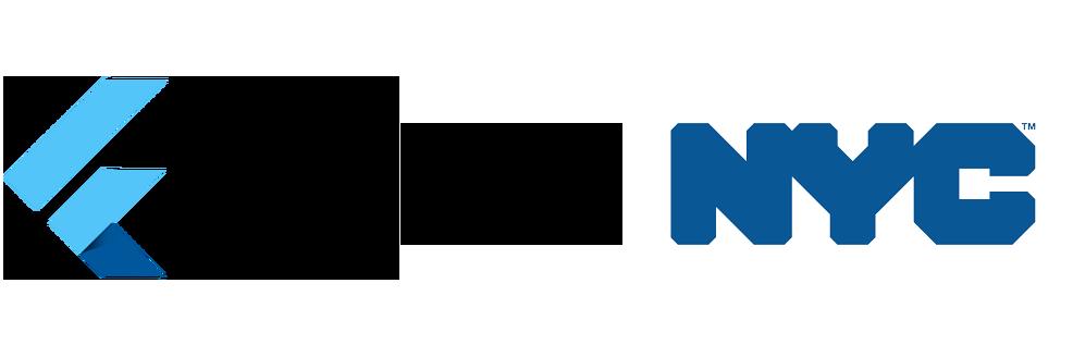 Flutter NYC logo