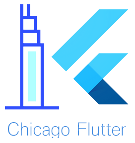 Chicago Flutter logo