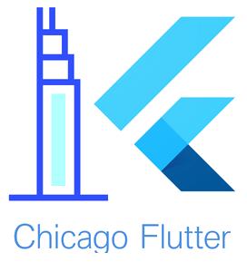 Chicago Flutter logo