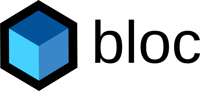 Bloc Library logo
